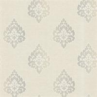Orpheus Transitional Damask Print