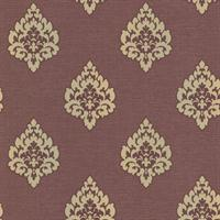 Donald Transitional Damask Print