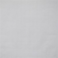 Ombre Pinstripe Paintable Wallpaper - White