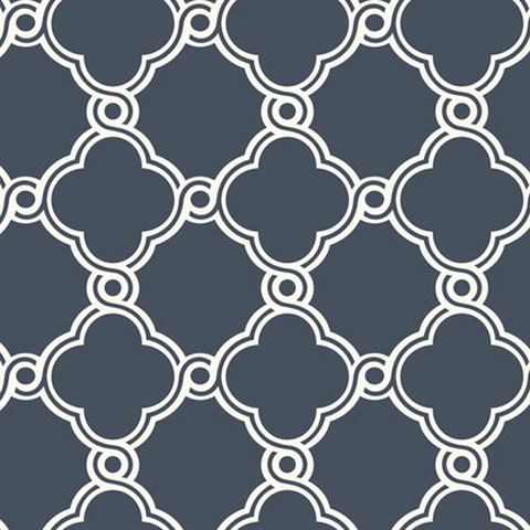 Open Trellis Wallpaper