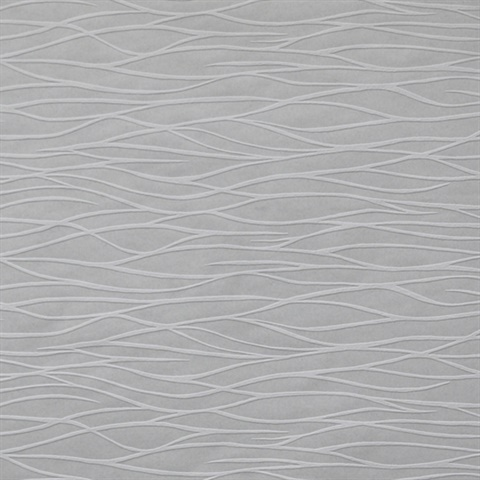 Organic Waves Paintable Wallpaper
