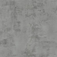 Osborn Charcoal Distressed Texture Wallpaper