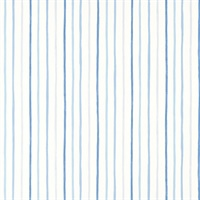 Painterly Stripe Blue