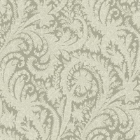 Archive Paisley Wallpaper