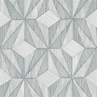 Paragon Slate Geometric Wallpaper