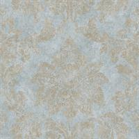 Patina Damask, Green