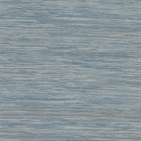 Pattaya Blue Grasscloth Wallpaper