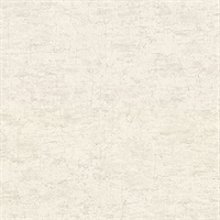 Pembroke Off-White Faux Plaster Wallpaper
