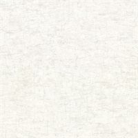 Pembroke White Faux Plaster Wallpaper