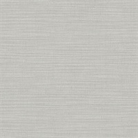 Perdita Grey Linen Wallpaper
