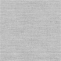 Perdita Light Grey Linen Wallpaper