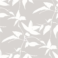 Persimmon Leaf Wallpaper