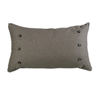Piedmont Large Taupe Gray Pillow