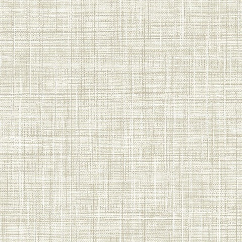 Poise Beige Linen Wallpaper