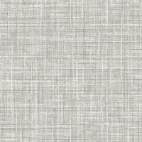 Poise Grey Linen Wallpaper