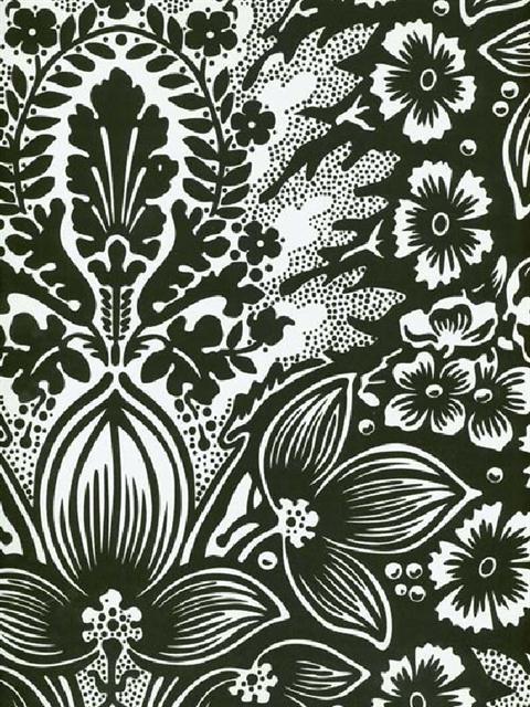 Sd115 Splendor Wallpaper Book Polynesian Floral Damask