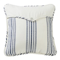 Prescott Navy Square Pillow