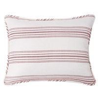 Prescott Red Pillow Sham