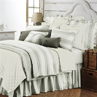 Prescott Taupe 3 PC Duvet Set