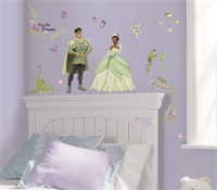 Princess and the Frog Decals
