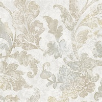 Prismatic Jacobean Wallpaper