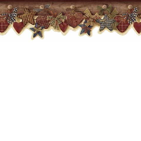 Quilted Hearts & Stars Border