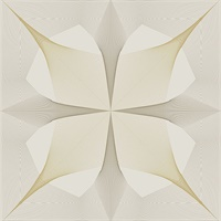 Radius Off-White Geometric Wallpaper