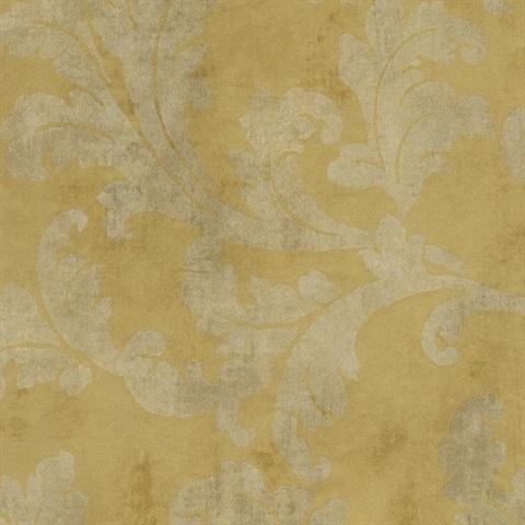 Gf0822 Gold Leaf Wallpaper Book By York