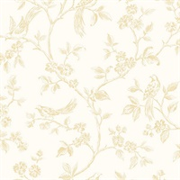 Ray Light Yellow Bird Trail Wallpaper