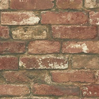 Red Brick, Peel and Stick