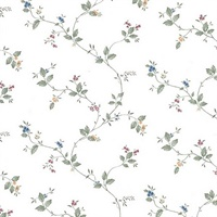 Ree Multicolor Mini Floral Trail Wallpaper