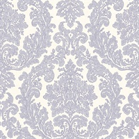 Reims Lavender Damask