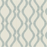 Elodie Neutral Geometric Wallpaper