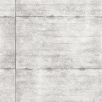 Reuther Grey Smooth Concrete Wallpaper