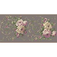 Rose Floral Scroll