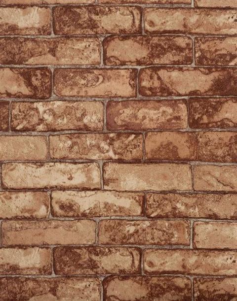 Rn1031 Rustic Brick Wallpaper
