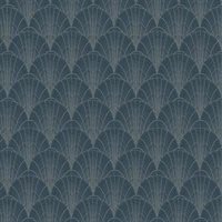 Scalloped Pearls Wallpaper