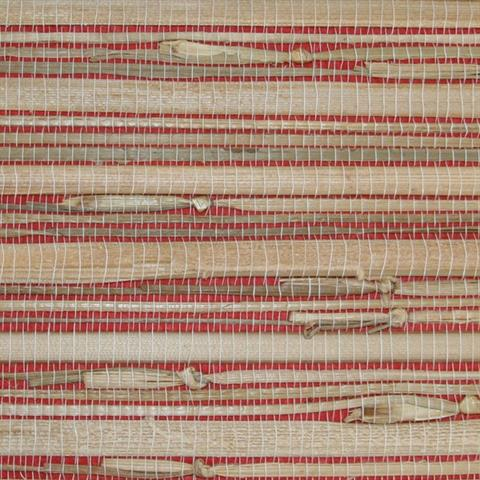 Red Grasscloth