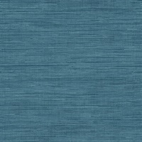 Sea Grass Blue Faux Grasscloth