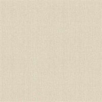 Seaton Bone Linen Texture Wallpaper