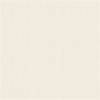 Seaton Cream Linen Texture Wallpaper