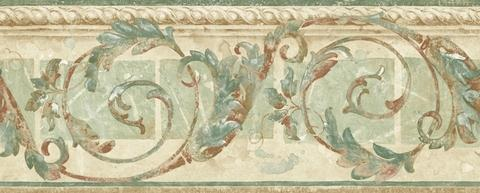 Seaton Scroll Wallpaper Border