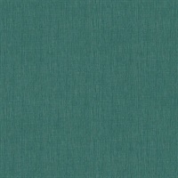 Seaton Sea Green Linen Texture Wallpaper