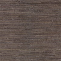 Shandong Chocolate Grasscloth Wallpaper