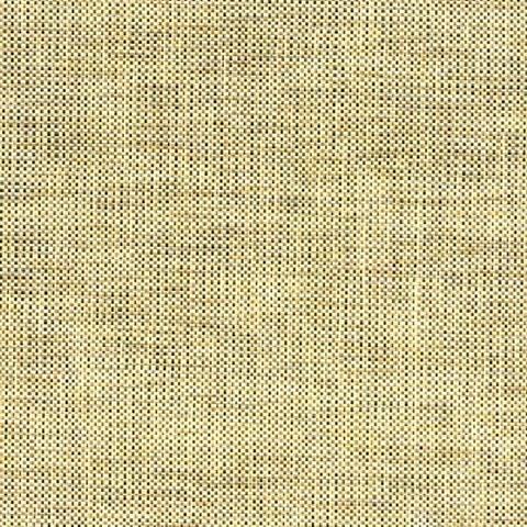63 54780 Wallpaper Yellow Black And Brown Checkered Grasscloth