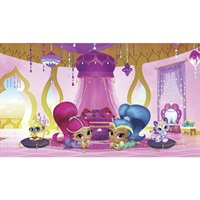 Shimmer and Shine Genie Palace Pre-Pasted Mural