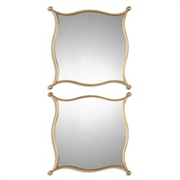 Sibley Gold Mirrors, S/2