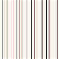 Multi-Stripe Pinstripe Wallpaper