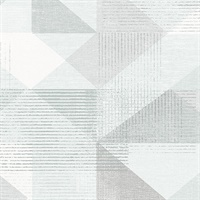 Silk Screen Geometric Wallpaper