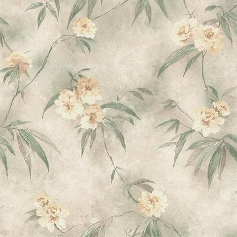 Silk Traditional Floral